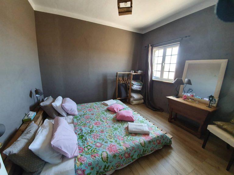 Chambre grise Quinta Cavaluz